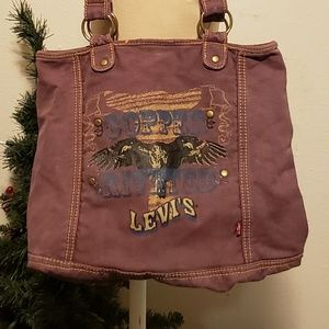 Levis 'Copper Rivet' Tote Bag 1980s